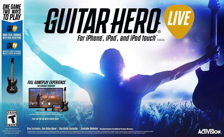 Guitar Hero Live iOS Box